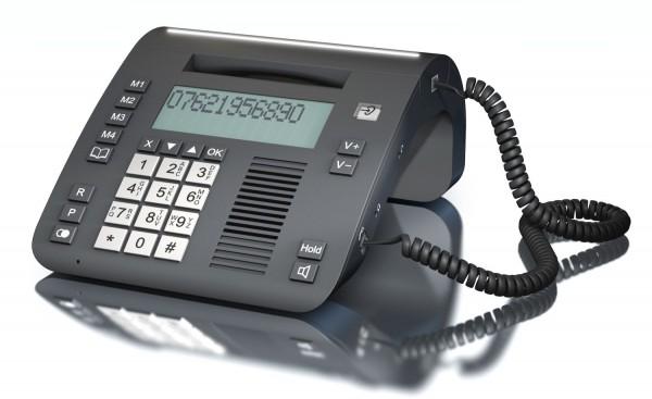 Spezialtelefon mit Hörverstärkung